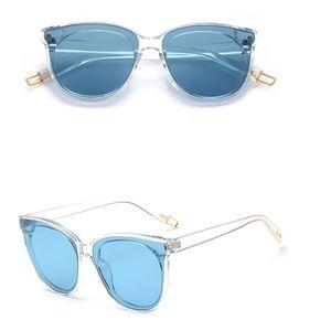 Women Cat Eye Brand Designer Round Sunglasses